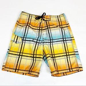 Kanu Surf Swim Trunks Board Shorts 34